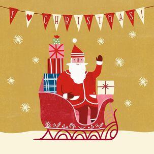 I (Heart) Christmas Musical Christmas Card