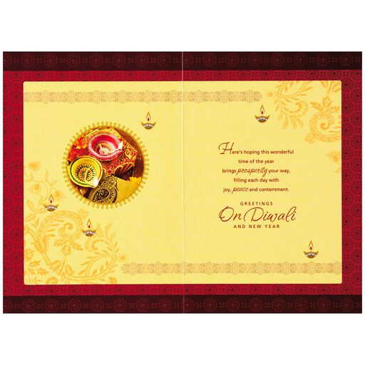 Wishing You All the Happiness Diwali Card,
