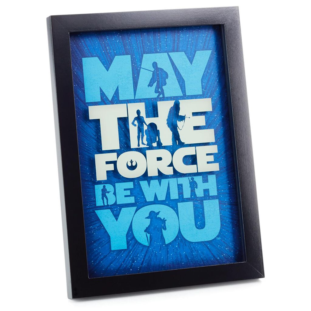 Star Wars™ The Force Framed Print - Framed Art & Prints - Hallmark
