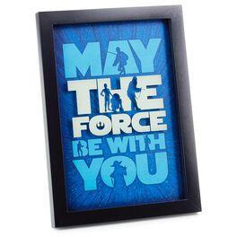 Star Wars™ The Force Framed Print, , large