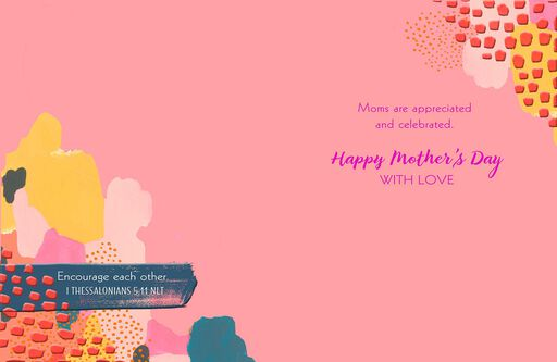 An Extraordinary Mom Religious Mother's Day Card,