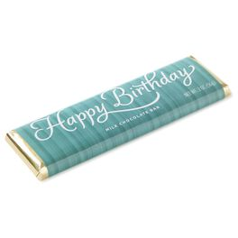 2 oz. Happy Birthday Milk Chocolate Candy Bar, , large