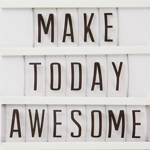 Make Today Awesome Sign Birthday Card