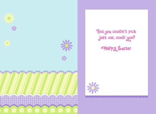 Minnie Mouse Spiffy Easter Card for Girls,
