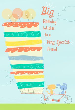 Big Wishes for a Special Friend Birthday Card