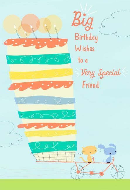 Big Wishes For A Special Friend Birthday Card Greeting Cards