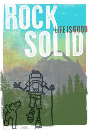 Life is Good® Rock Solid Father's Day Card