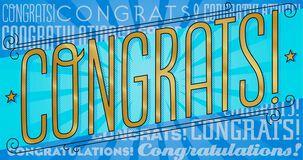 Gold Congrats! Graduation Money Holder Card
