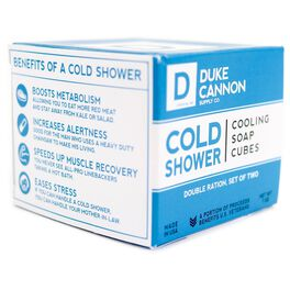 Duke Cannon Cold Shower Cooling Soap Cubes, , large