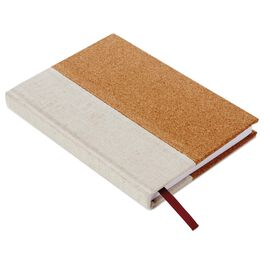 Cork With Linen Journal, , large