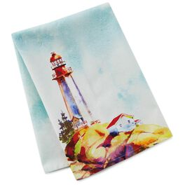 Lighthouse Tea Towel, , large