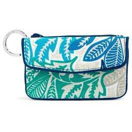 Vera Bradley Jen Zip ID Case in Santiago, , large