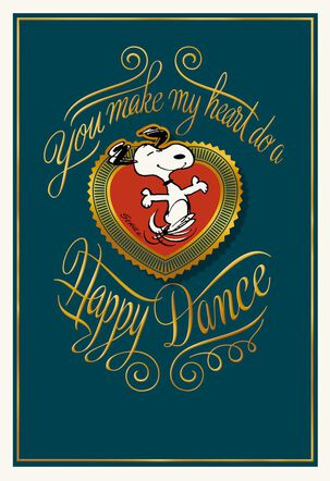 Peanuts® Happy Dance Father's Day Card for Husband