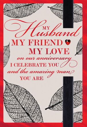 Celebrate Valentine's Day Anniversary Card for Husband