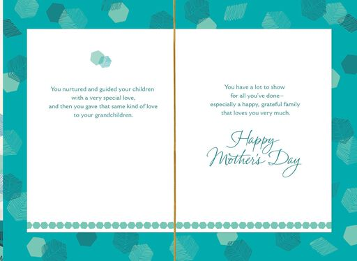 Your Love Is Your Legacy Mother's Day Card for Grandma,