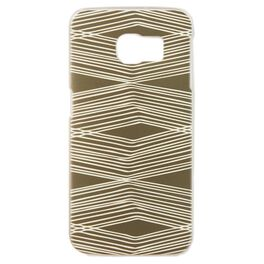 Natural & Authentic Etched Lines Samsung Galaxy S6 Edge Android Phone Case, , large