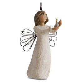 Willow Tree® Angel of Hope Ornament, , large