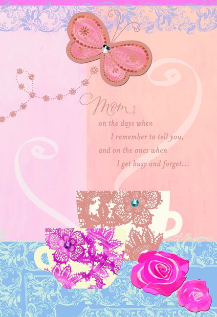 Wonderful Mom And Grandma Birthday Card For Mom Greeting Cards