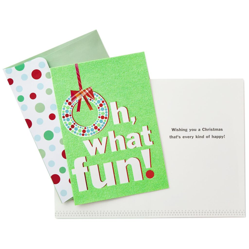 oh what fun christmas cards box of 16