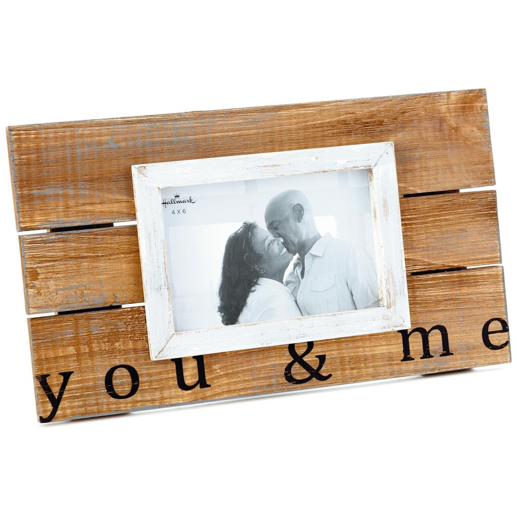 You Me Wood Slat Picture Frame 4x6 Picture Frames Hallmark