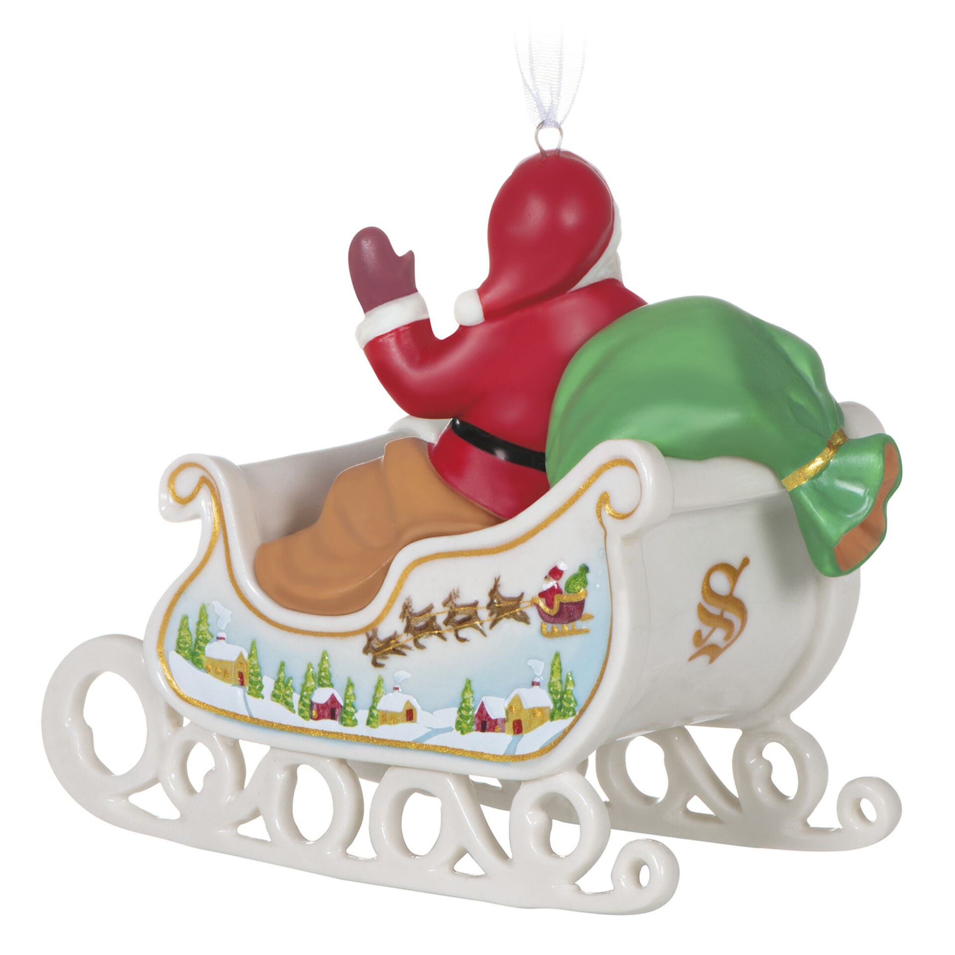 red truck Christmas ornament Snowman ornament nativity ornament stocking stuffers Santa\u2019s sleigh ornament holiday gifts for coworkers