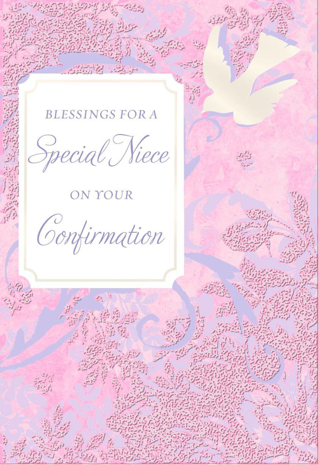 Blessings for a special niece dove confirmation card greeting blessings for a special niece dove confirmation card greeting cards hallmark m4hsunfo