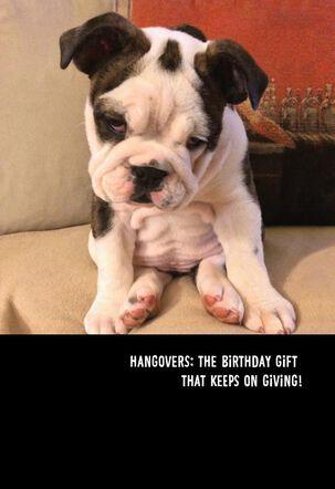 Birthday Hangovers Funny Birthday Card
