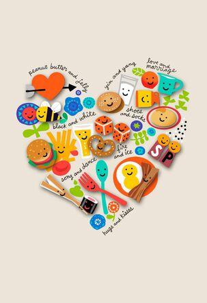 We Belong Together Love Card
