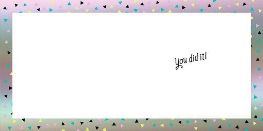 You Crazy Kids Wedding Congratulations Card,