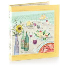 Dolce Vita Recipe Card Organizer Binder, , large