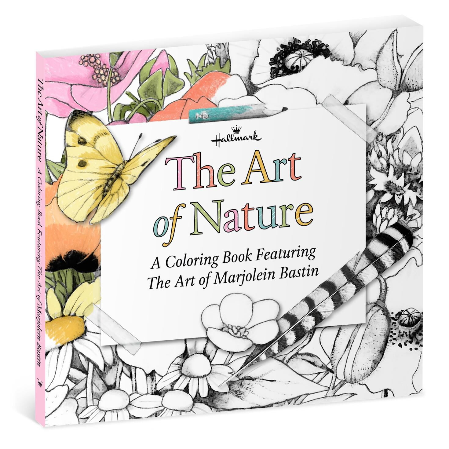 the art of nature u2014a coloring book featuring the art of marjolein