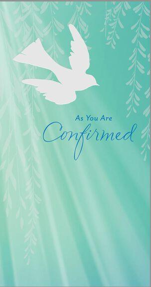 Blessing of Faith Confirmation Money Holder Card