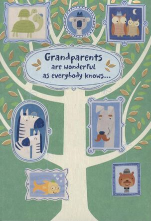 Family Tree Grandparents Day Card