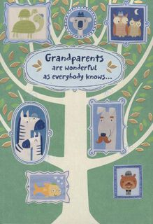 Family Tree Grandparents Day Card,