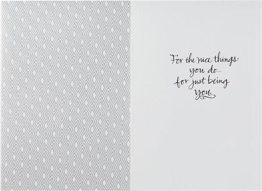 Calligraphy Pen Thank You Card,