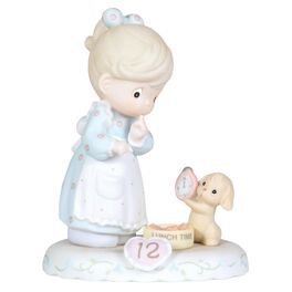 Precious Moments® Growing in Grace Blonde Hair Girl Figurine, Age 12, , large