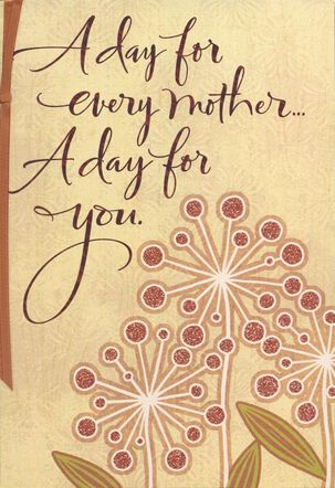 You Enrich My Life Mother's Day Card