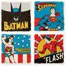 DC Comics™ Super Hero Ceramic Coasters, Set of 4