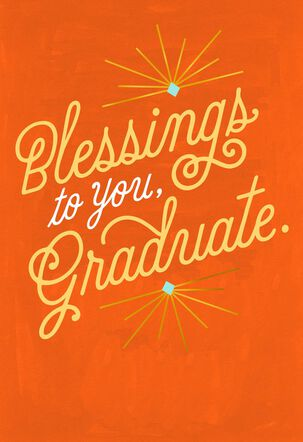 Blessings as You Graduate Bilingual Graduation Card