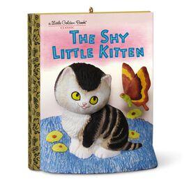 Little Golden Books The Shy Little Kitten Ornament, , large