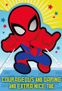 MARVEL Spider-Man™ You're a Great Kid Birthday Card,