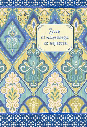 All the Best Polish-Language Birthday Card