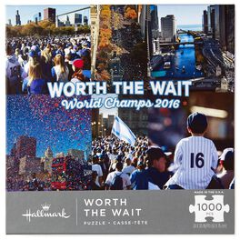 Worth the Wait Chicago Championship Parade 1000-Piece Puzzle, , large