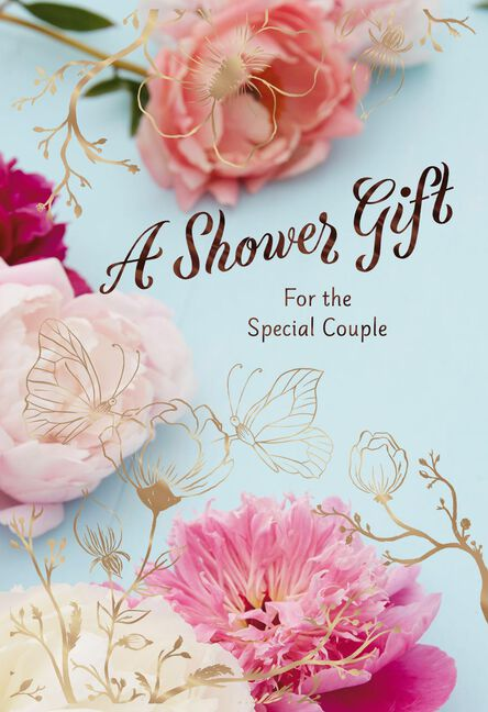 a gift for the special couple bridal shower card