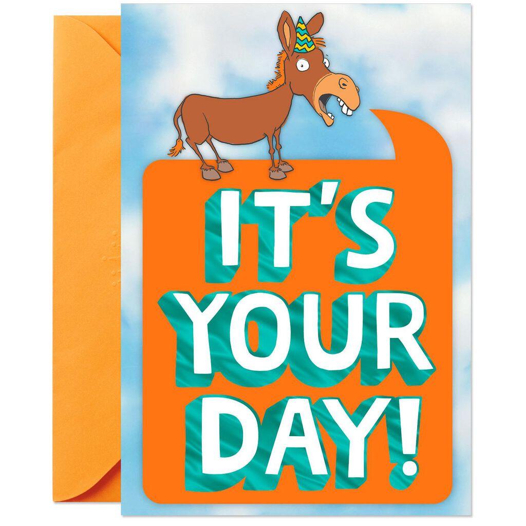 Big Ass Celebration Pop Up Birthday Card