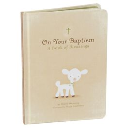 Baptism Blessings Keepsake Book, , large