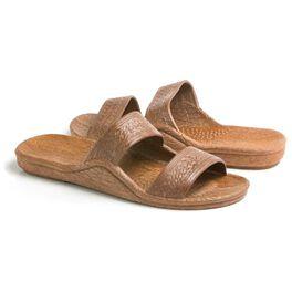 Pali Hawaii® Dark Brown Jesus Jandal Sandal, , large