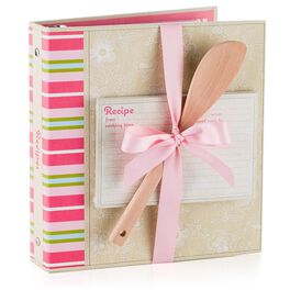 Floral Recipe Organizer Gift Set, , large
