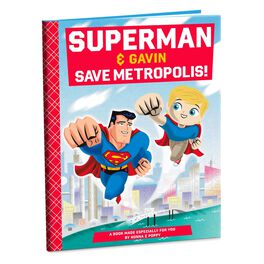 SUPERMAN™ Personalized Book, , large