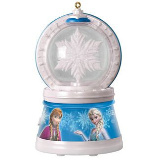 Disney Frozen Elsa's Magic Snowflake Ornament With Light and Music,